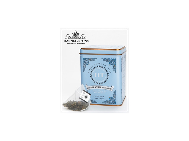Harney&Sons Winter white Earl grey – černý čaj