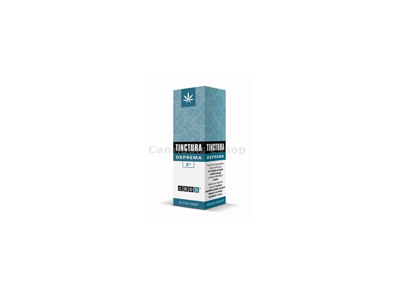 Tinctura Deprema 2% 20ml -CBDex