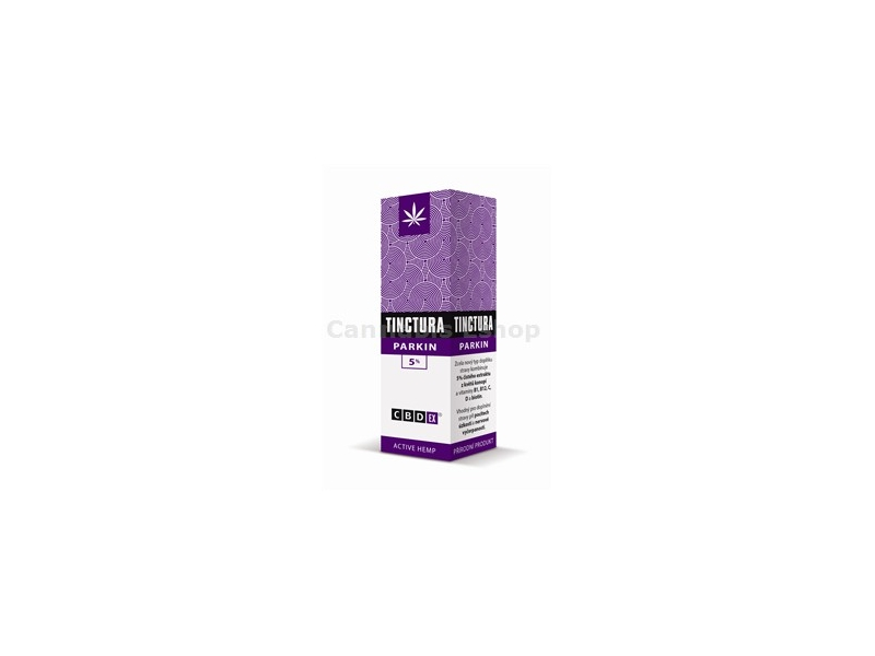 Tinctura Parkin 5% 20ml -CBDex