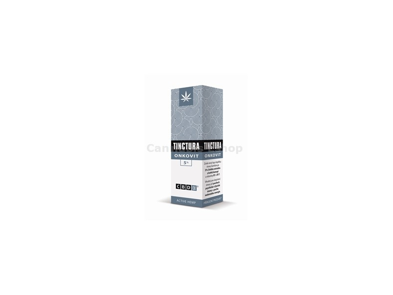 Tinctura Onkovit 5% 20ml -CBDex