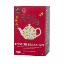 CERTIFIKOVANÝ BIO A FAIRTRADE ČAJ – ENGLISH BREAKFAST 20 SÁČKŮ